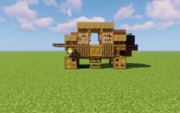 Wells Fargo  & Company  Stagecoach Minecraft Map & Project