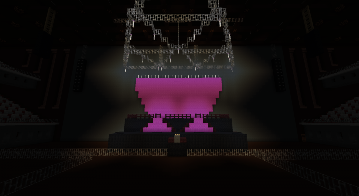 Nicki Minaj: The Pinkprint Tour (Stage) Minecraft Project