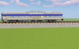 VIA Rail Canada Budd Park series Dome-lounge car Minecraft Map & Project