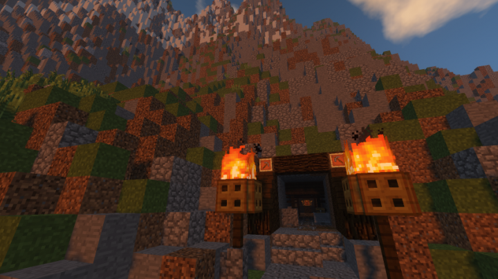 The abandoned coal mine