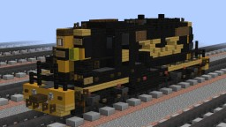 [1.5:1] D&RGW EMD GP9 road switcher Minecraft Map & Project