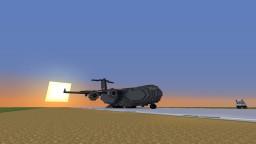 Boeing C-17 Globemaster III Minecraft Map & Project