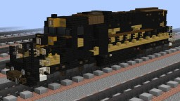 """[1.5:1] D&RGW EMD SD40T-2 """"tunnel motor"""" Minecraft Map & Project"""