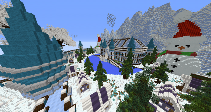 Minecraft Christmas Map.Minecraft Christmas Winter Map By Encodedcraft Download