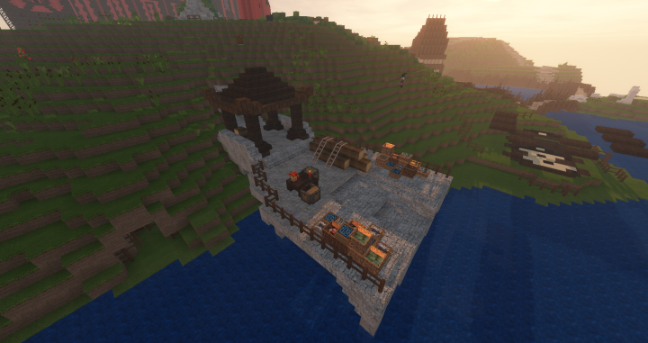 View of Ykoso Dock and Dueling Pads