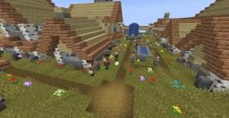 Village on a Mountain (MC 1.14) Minecraft Map & Project