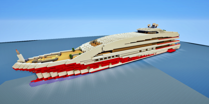 "Popular Server Project : SuperYacht  ""Ruby"""