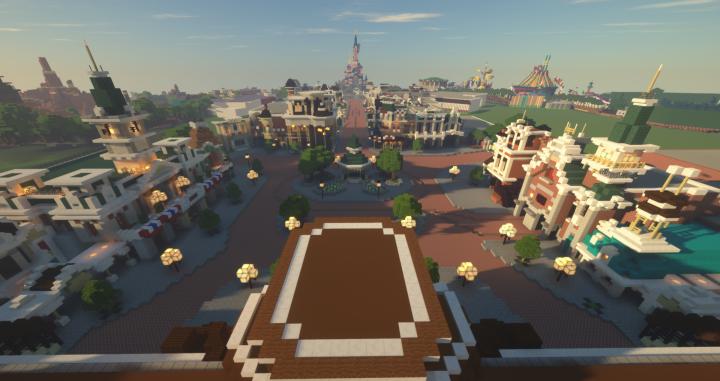 Disneyland Paris Minecraft Minecraft Map