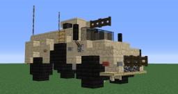 RG-31 Nyala Minecraft Map & Project