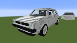 Volkswagen Golf 1 Typ 17 Minecraft Map & Project