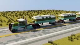 Tanker Road Train Minecraft Map & Project