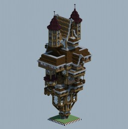 Large House Thing Minecraft Map & Project