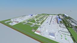 Flughafen Airport Minecraft Map & Project