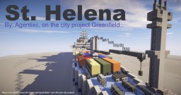 RMS St. Helena [passenger/cargo liner] (Another version) Minecraft Map & Project