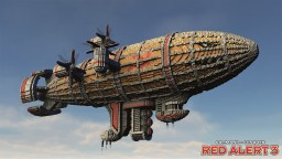 Kirov Airship | C&C Red Alert 3 Minecraft Map & Project