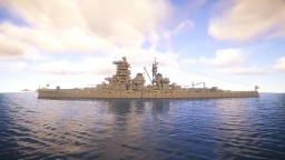 IJN Battleship Haruna (ver. 2019) Minecraft Map & Project