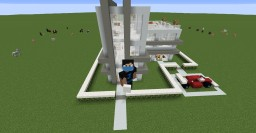 First Modern House Design Minecraft Map & Project