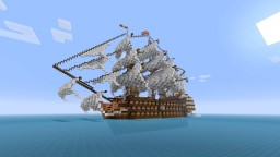 First Rate Ship of the Line Nuestra Señora de Guadalupe Minecraft Map & Project