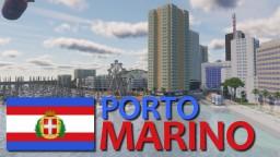 Stato di Porto Marino - Mediterranean insular country Minecraft Map & Project