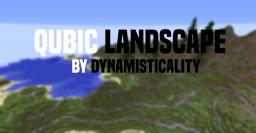 Qubic Landscape | Mountainous Minecraft Terrain Map Minecraft Map & Project