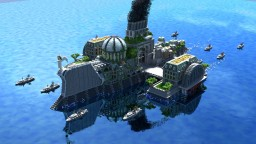 The Oasis - Last Hope for Survival Minecraft Map & Project