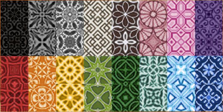 Glazed terracotta