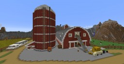 Red Horse Barn Minecraft Map & Project