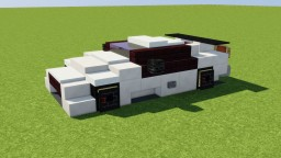 Nissan GT-R Minecraft Map & Project