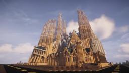 The Sagrada Familia (Conquest Reforged) Minecraft Map & Project
