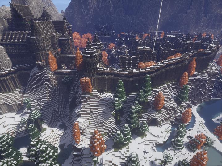Frozen city of the North - Borealis.