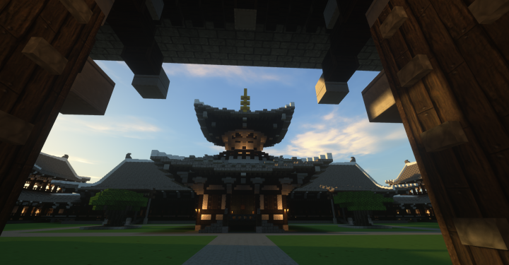 """A pagoda for storing the Buddhist Bell. Inspired by the pagoda in """"Jyo-do ji """" in Japan."""