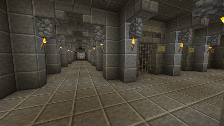 Arkham Asylum By The4BDmaster Minecraft Map