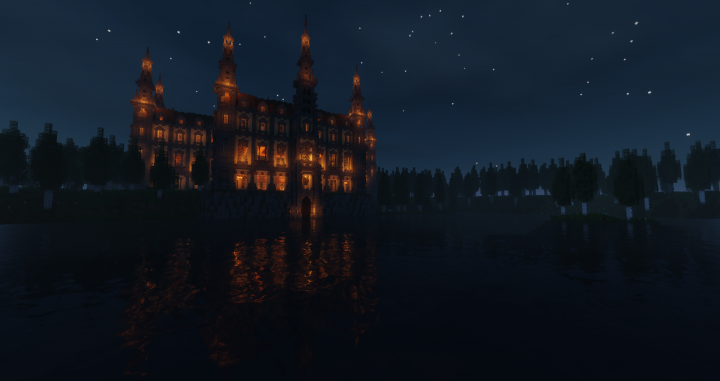 The Chateau can be just as dark as a depression but also as bright as the sun