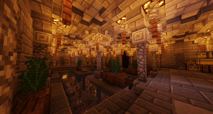 Begin your boat journey in the harbor underneath the main hall