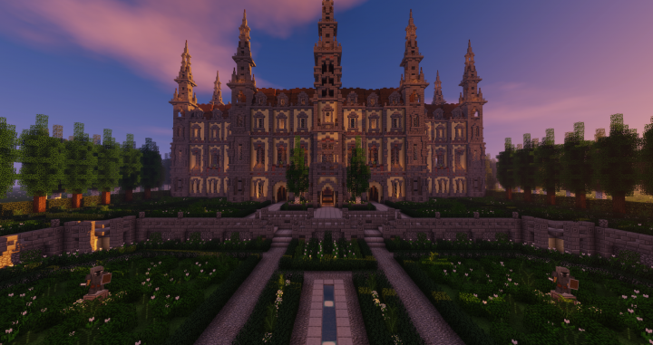 When the sun sets, the Chateau des Seigneurs transforms into a place of mystery