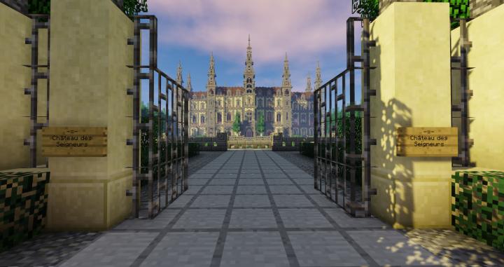 Bienvenue au Chateau des Seigneurs!