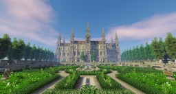 Château des Seigneurs - French Castle with garden Minecraft Map & Project