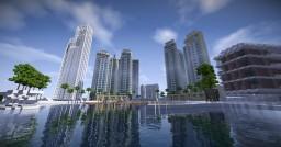Dubai Creek Harbour [Grand Project] Minecraft Map & Project