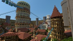 Roman / Neo-medieval spawn Minecraft Map & Project