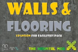 Hospital Mod Xpansions - Walls and Flooring Pack Minecraft Mod