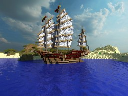Chinese Junk ship Minecraft Map & Project