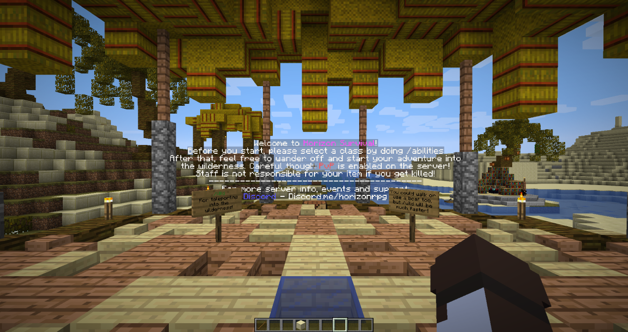 Rpg Survival Minecraft Server – Fondos de Pantalla