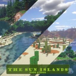 The sun islands - 2000x2000 [worldpainter] Minecraft Map & Project