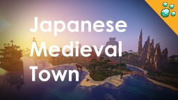 Medieval japanese town - terraforming - custom trees Minecraft Map & Project