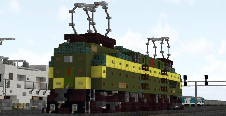 Popular Server Project : Electric locomotive GG1