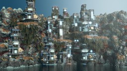Cyber Cliff Minecraft Map & Project
