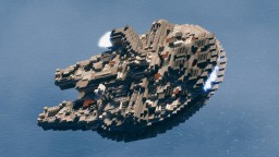 The Millennium Falcon Minecraft Map & Project