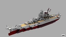 Japanese Battleship IJN Yamato / Yamato class warship (1:5 scale) Minecraft Map & Project
