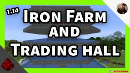 1.14 iron golem farm Minecraft Map & Project