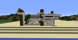 seaside house Minecraft Map & Project